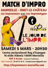 5 mars 2016 : le jour de l'impro avec les Imprototypes