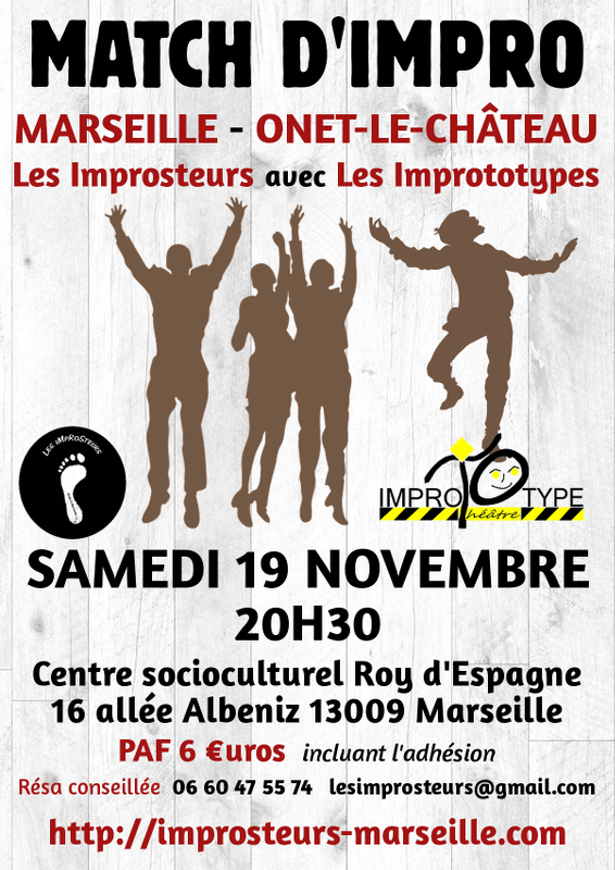 Match avec les Improtoypes, novembre 2016