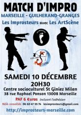 Match avec les ArtScène, décembre 2016
