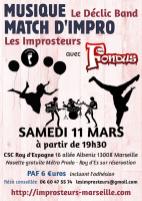 Match avec les Fondus, mars 2017