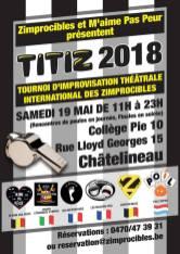 Festival Charleroi mai 2018