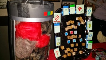 Tribble Containment Unit and Neverwares Scrabble magnets