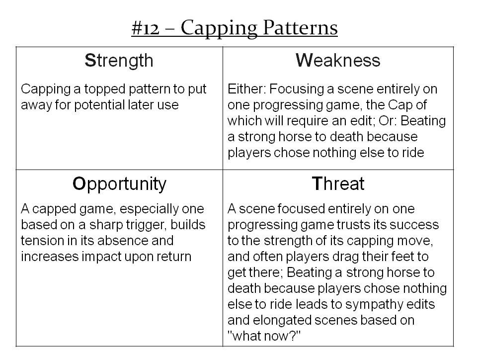 More Info: http://improvdoesbest.com/2013/03/18/swot-12-capping-patterns/