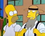 Barn Raising Simpsons