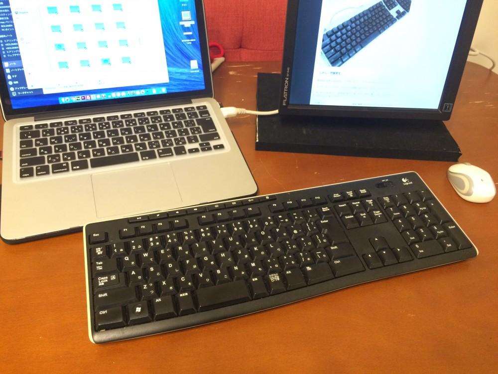 LOGICOOL ワイヤレスキーボード Unifying対応レシーバー採用 K270