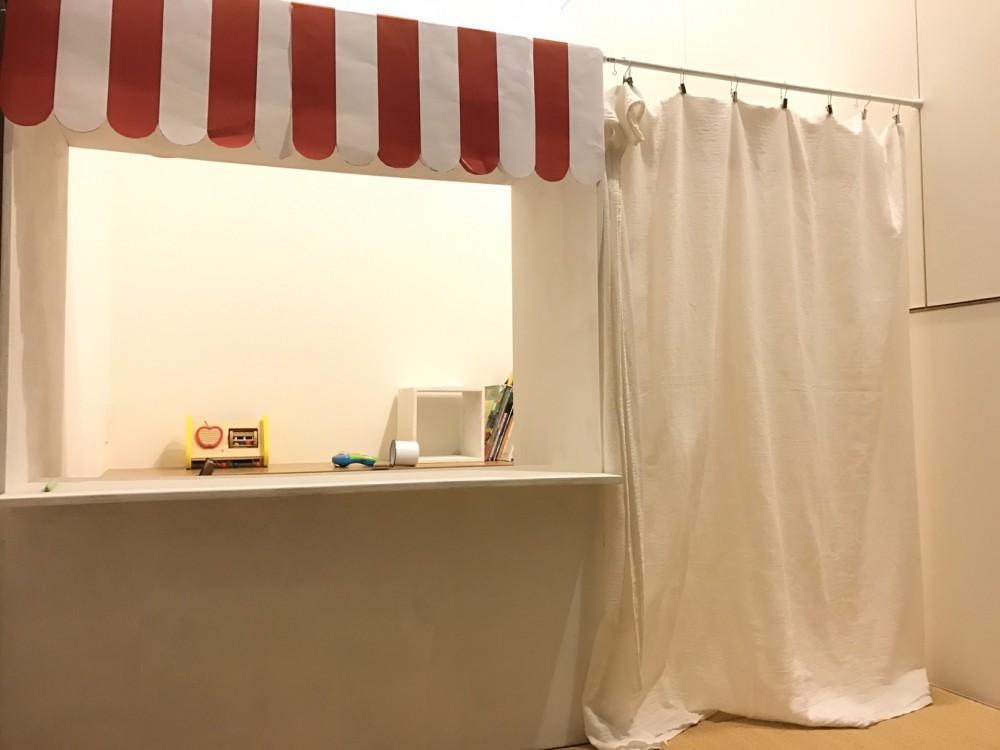 カーテンの設置