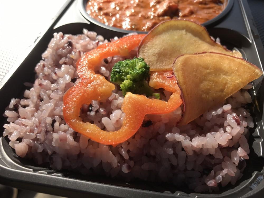 雑穀米|ベジヤード カレー弁当