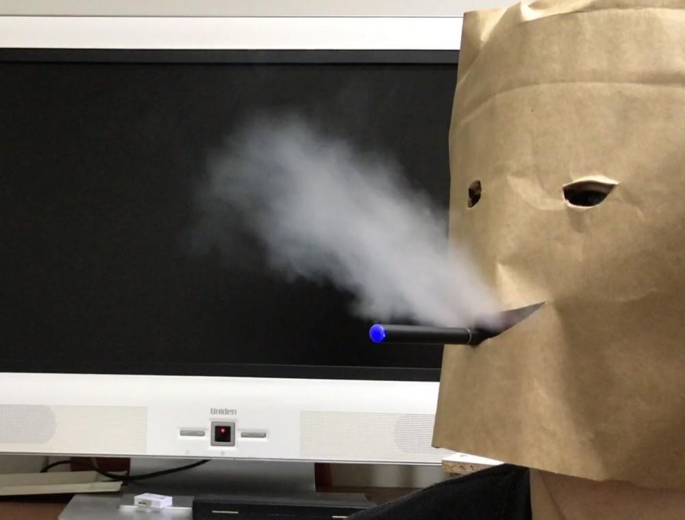 FLEVO(フレヴォ)のくわえたばこ