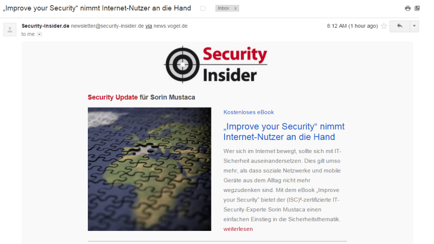 newsletter-security-insider