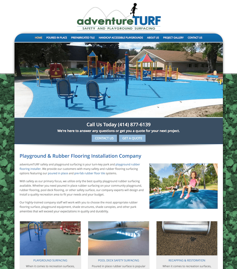 adventureTURF case study feature image