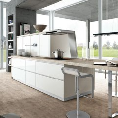 German Made Kitchen Cabinets Island With Marble Top Bauformat | At Improve Canada