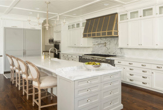 countertops kitchen 42 inch cabinets 8 foot ceiling choosing the right countertop material for your