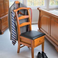 Mens Chair Valet Stand Leather Chaise Lounge Men S Suit