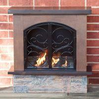 Portable Indoor Outdoor Gel Fuel Fireplace