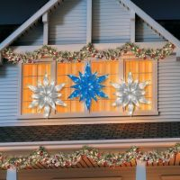 LED Snowflake Outdoor Christmas Decoration