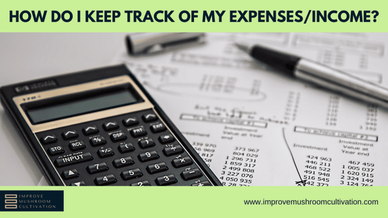 How do i keep track of my expenses/income?
