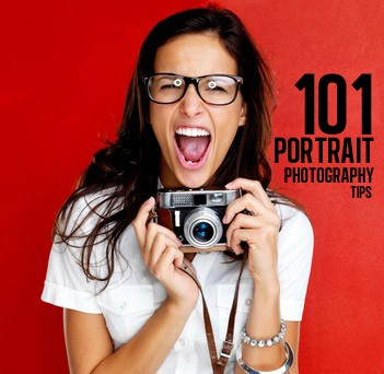 The largest collection of portrait photography tips on any single page of the Internet.  Clever tips, too!