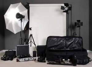 Flash photography kits for photographers