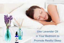 why does lavender help with sleep?