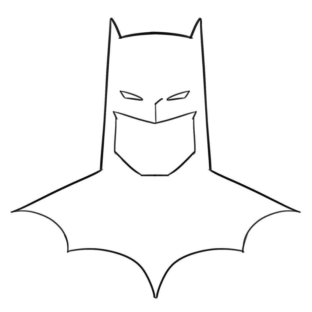 2 Ways To Draw Batman For Beginners How To Draw Batman S