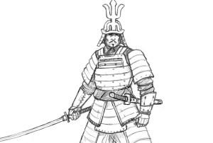 samurai draw learn easy steps improveyourdrawings