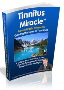 Visit Tinnitus Miracle Author's Website for more information