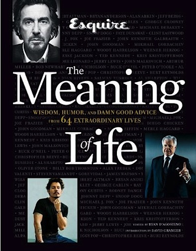 Esquire The Meaning of Life cover
