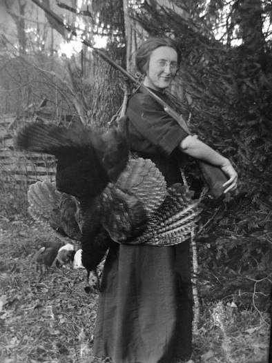 pioneer woman with wild turkey, helvetia West Virginia