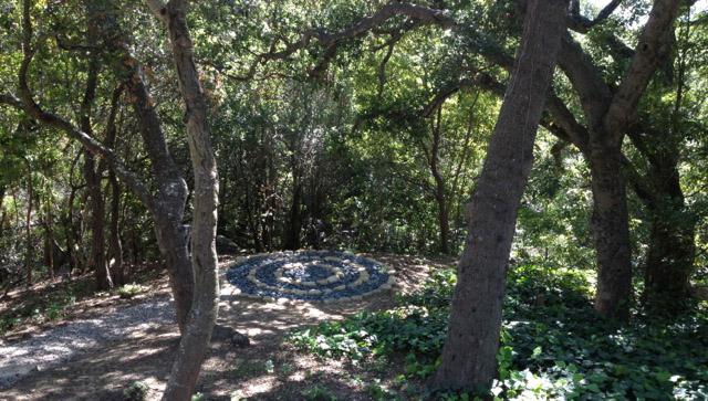 stacked stone circle