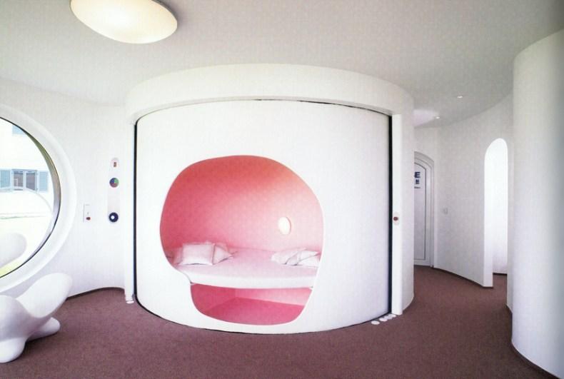 Aqqindex pink Luigi Colani, Rotor Haus, 2004