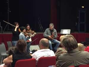 Master class de Didier Lockwood _ apprendre à improviser au violon