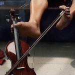 foot et violon