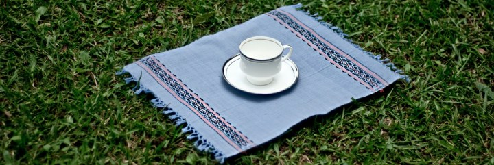 Mishing Table Mats - Multicolour on Lavender