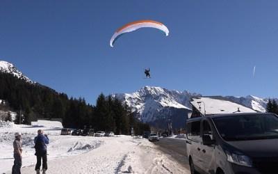 Les pratiques hivernales du parapente: comment voler en hiver?