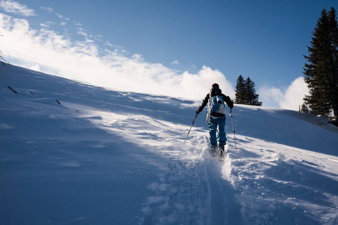 remplacer la natation par le ski de randonnée