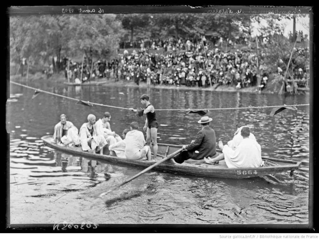 Championnats de France de natation 1903 - histoire de natation