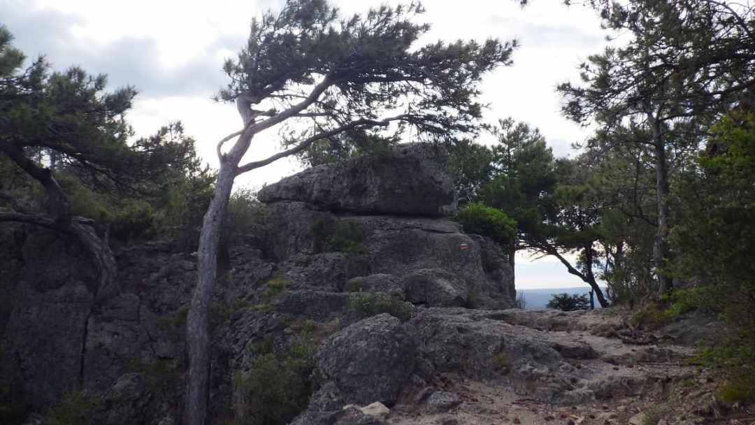 Le Cap de Ginestet, vers le Mont Saint Baudille