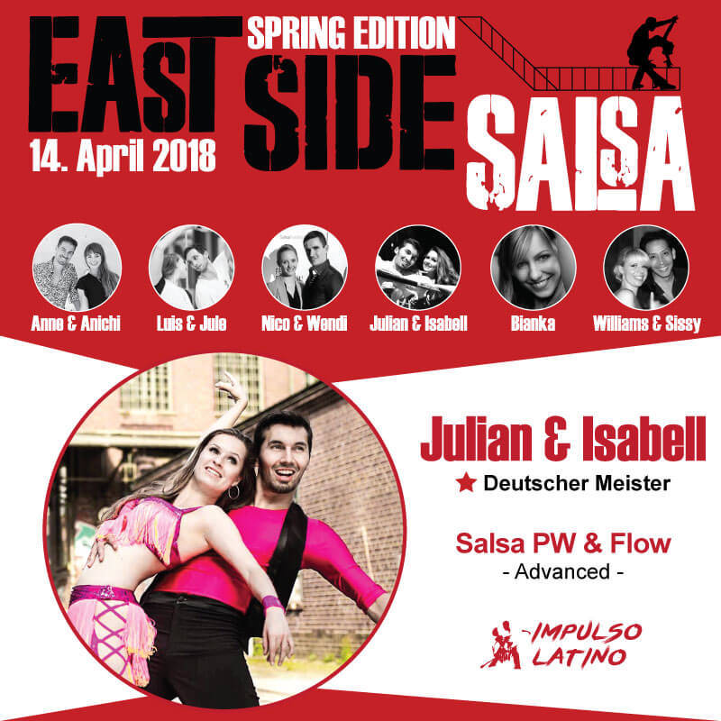 East Side Salsa // Julian & Isabell