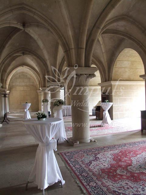 Short reception only  Column Hall Slovakia  Impuls Wedding Agency