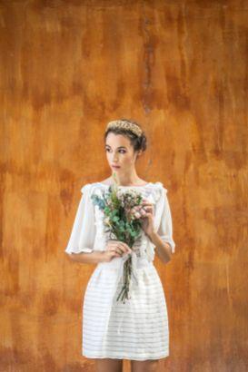 Vestido de novia hecho a medida de la firma de moda Impúribus