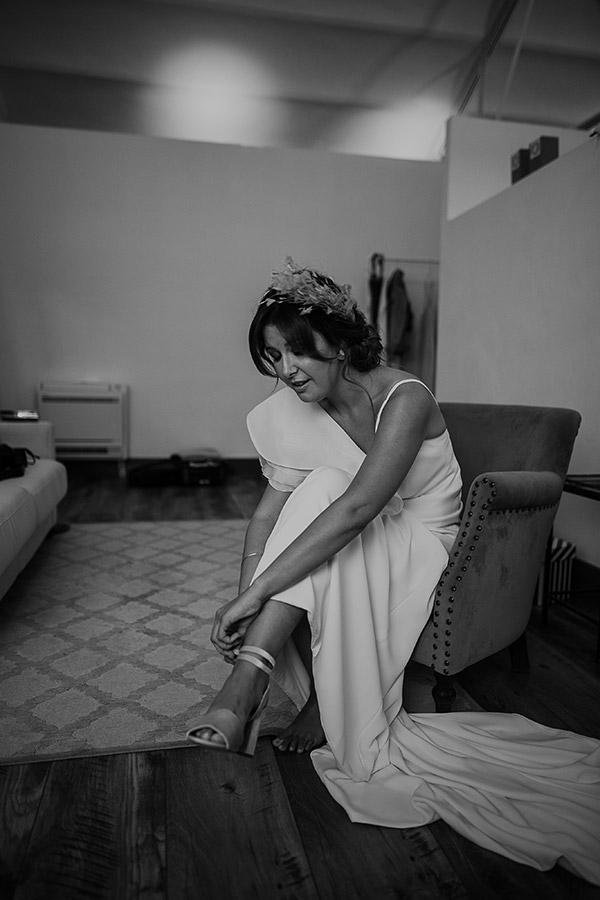 Vestido de novia de la firma Impúribus realizado a medida