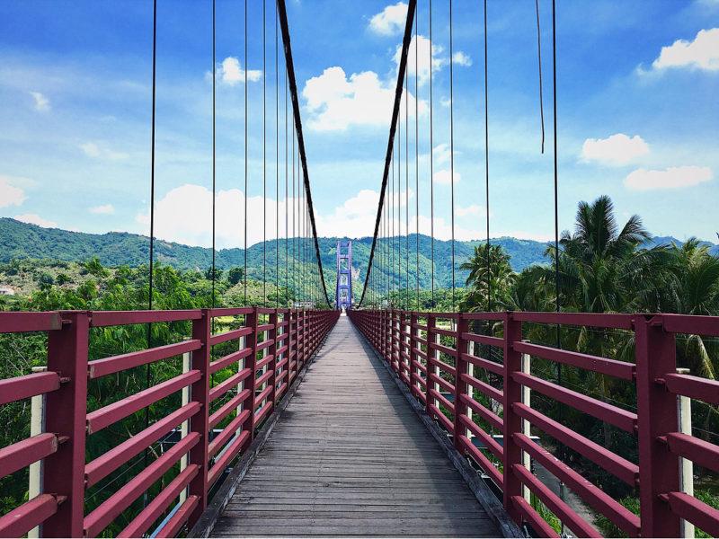 永興吊橋|台南景點,台南吊橋,曾文溪水域
