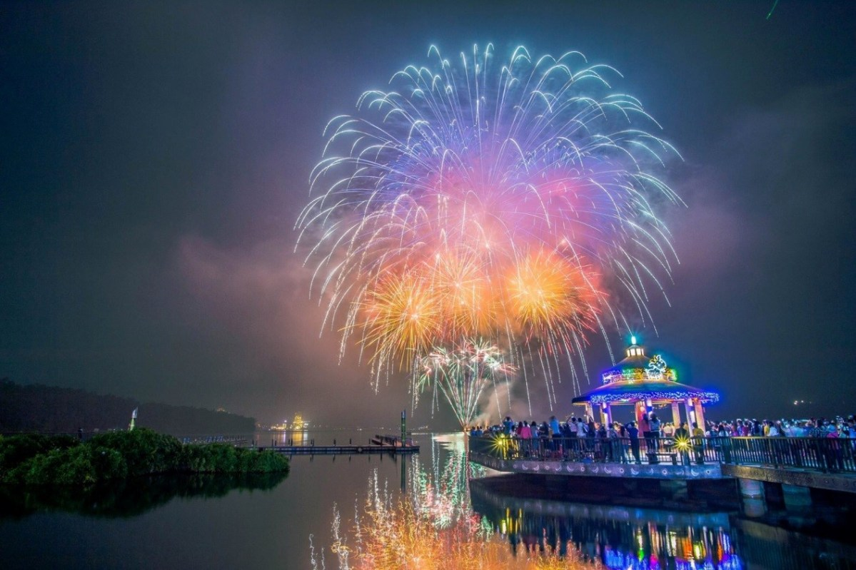 2018 Sun Moon Lake Cycling, Music & Fireworks Festival