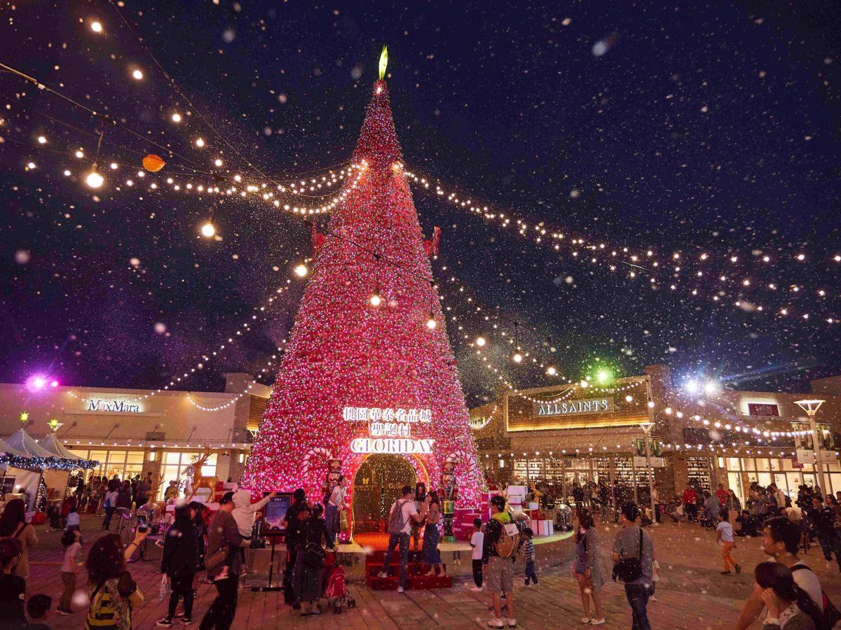 【 2018聖誕節 】全新4大亮點!桃園最美聖誕村-「華泰名品城聖誕村」攻略