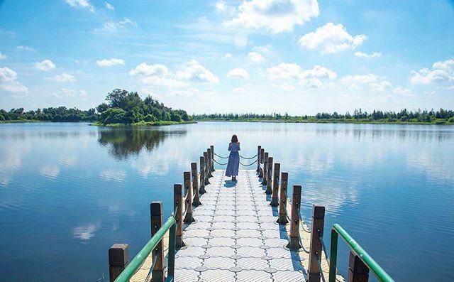 過年旅遊 春節旅遊 2021春節 走春景點 南部走春 南部景點 雲林景點 椬梧滯洪池