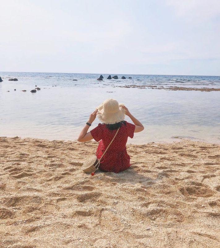 小琉球景點 蛤板灣