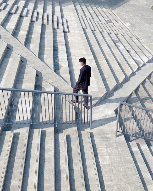 台南懶人包   七股遊客中心,ㄑ字梯,台南打卡景點,七股鹽山