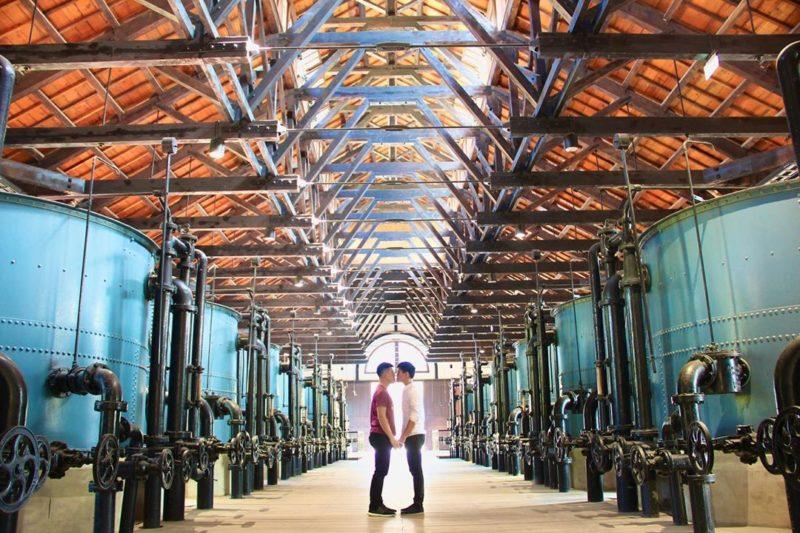 台南景點懶人包   台南水道博物館又稱台南山上花園水道博物館,園區佔地寬敞,分為博物館區及淨水池區,是台南打卡美照重要景點之一