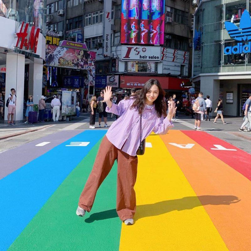 西門新景點 彩虹地標