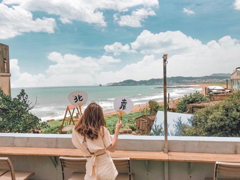 北海岸一日遊行程 景點美食推薦 Quiet B. Days 靠北過日子海景咖啡廳